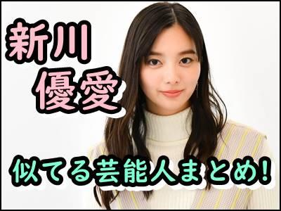 新川優愛と似てると言われるのは誰西野七瀬やツウィなどをまとめ!
